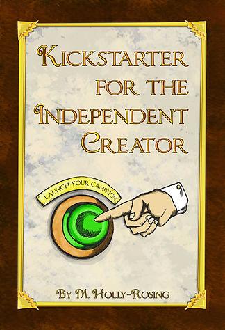 Kickstarter, Independent Creator, crowdfunding, button, steampunk, Victorian, marketing