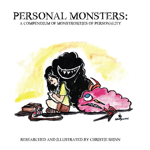 'Personal Monsters' Signed Book