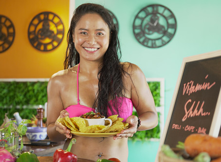 "Coffee Infused Vegan Chilli Bowl aka ""Kape Con Chilli"""