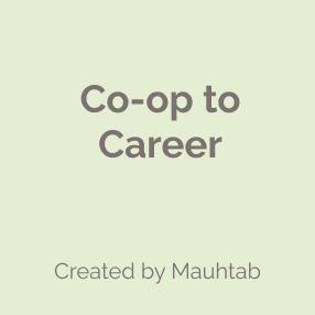 Co-op to Career