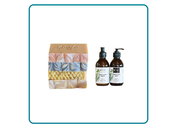 Artisan Soap Collection with Hand & Body Set
