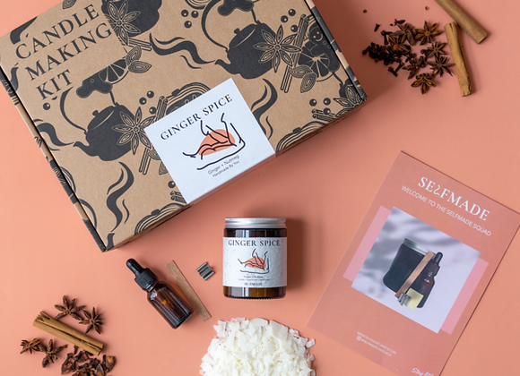 Warm Ginger Spice: Candle Making Kit