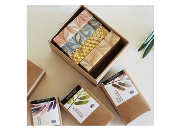 Gift Set: Artisan Soap Collection with Hand and Body Set