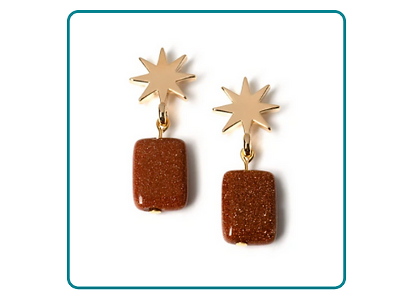 The Gold Star Collection Earrings