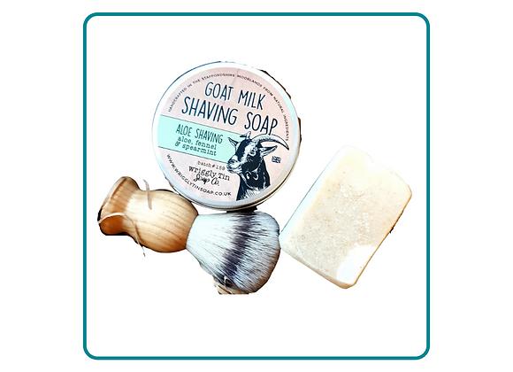 Goat Milk Shaving Soap Gift Set