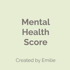 Mental Health Score