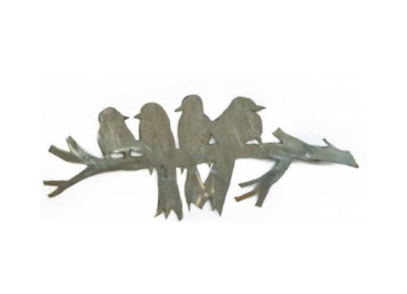 Handcrafted Metal Birds