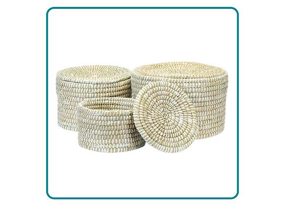 Handwoven Artisan Storage Basket