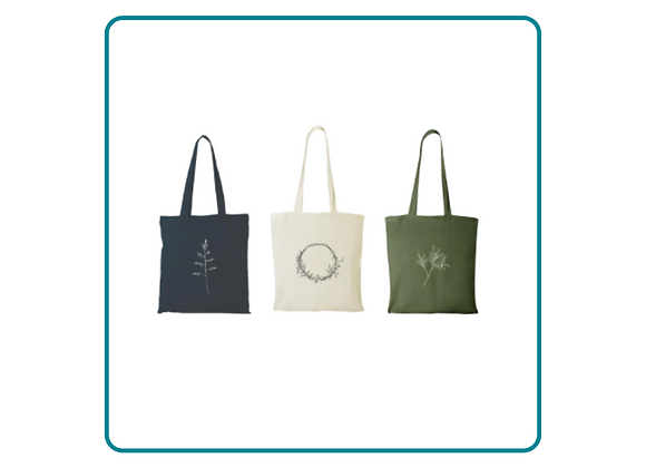 Reusable Bags & Cards with Nature Illustrations