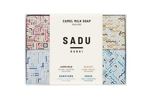 Complete Camel Milk Soap Sample Set
