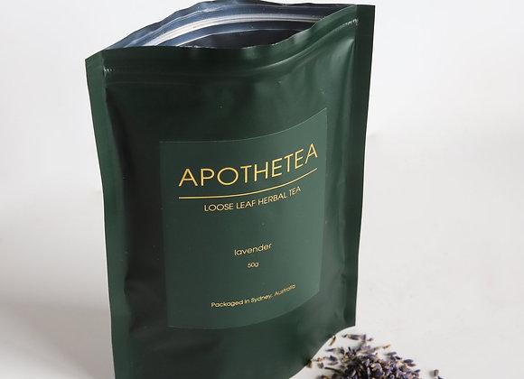 Loose Leaf Organic Lavender: 2 Bags