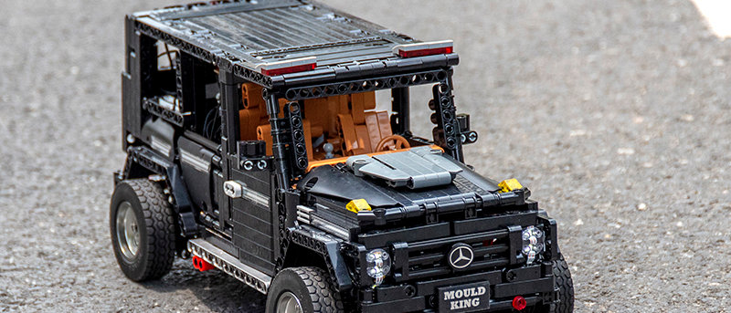 LEPIN 13070 RC Off Road Motors Car Mercedes G65 with power function