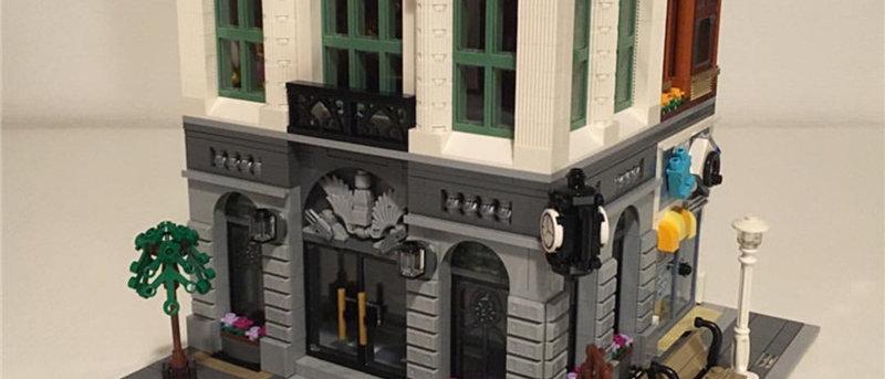 LEPIN 15001 Creator Expert Brick Bank LEGO 10251
