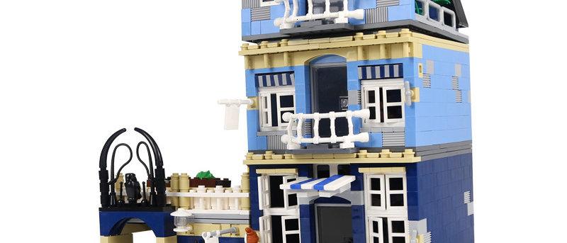LEPIN 15007 Market Street LEGO 10190(retired)
