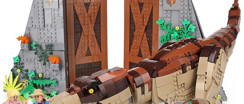 Jurassic Park: T. rex Rampage  compatible lego 75936