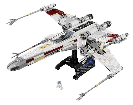 Moc 05039 Star Wars Red Five X-wing Starfighter  Compatible LEGO 10240