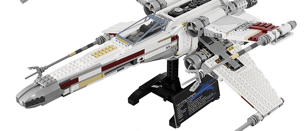 Moc Star Wars Red Five X-wing Starfighter 10240 Compatible 05039