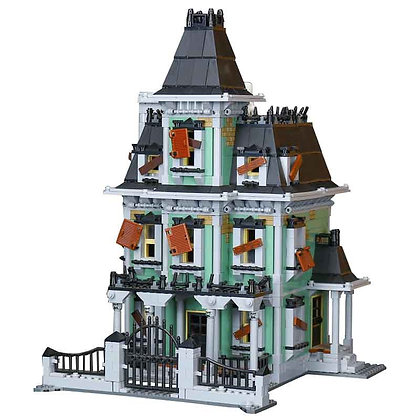 LEPIN Haunted House 16007 Compatible LEGO 10228