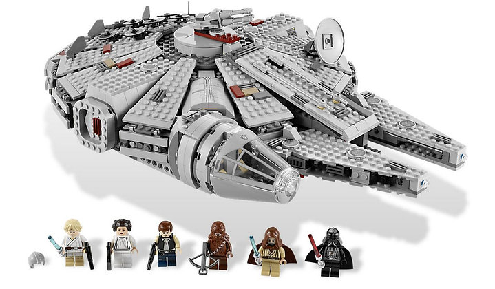 Star Wars Ultimate Collector's Millennium Falcon 05033 compatible LEGO 10179