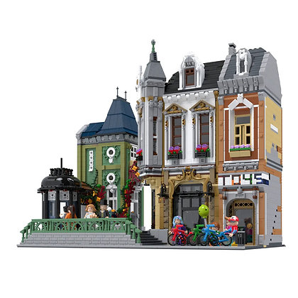 URGE 10190  Afol Square 2020 NEW building blocks set
