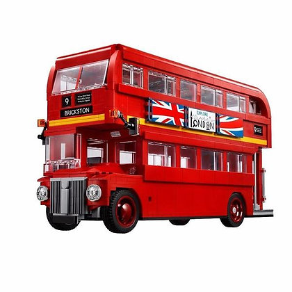 Creator London Bus 21045 Compatible LEGO 10258