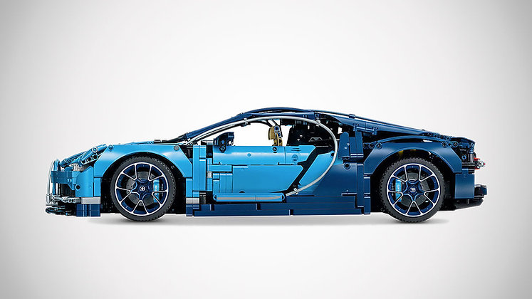 LEPIN 20086 Technic Bugatti Chiron Compatible LEGO 42083