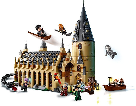 The Hogwarts Great Hall 16052 Compatible LEGO 75954