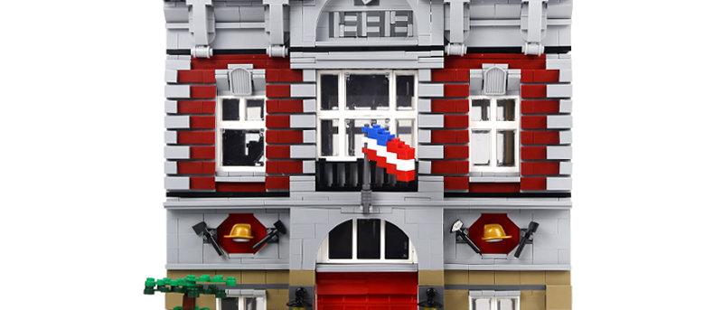 LEPIN 15004 Creator Fire Brigade LEGO 10197(retired)