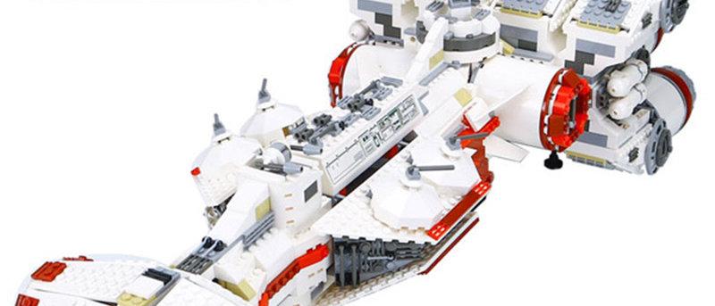 Star Wars Imperial Rebel Blockade Runner 05046 Compatible 10019