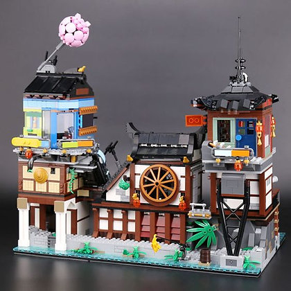 LEPIN Ninjago City Docks 06083