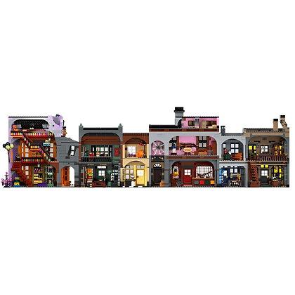 Harry Potter Diagon Alley Building blocks 20007 compatible lego 75978