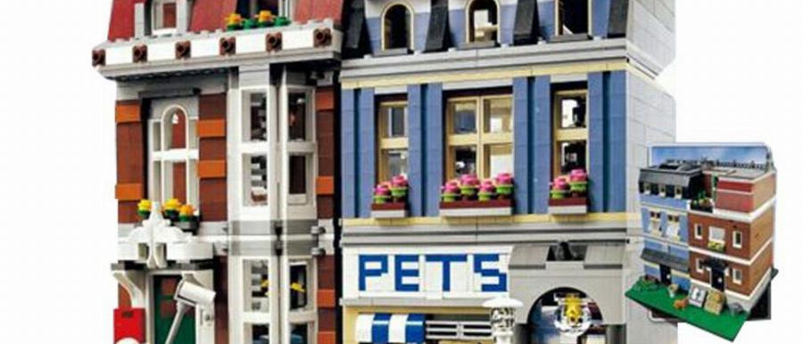 LEPIN 15009 City Pet Shop LEGO 10218(Retired)