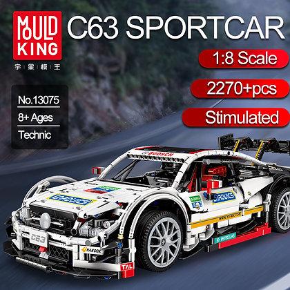MOC 13075 Mercedes Benz C63 AMG Sport Lego Technic MOC-6687 6688
