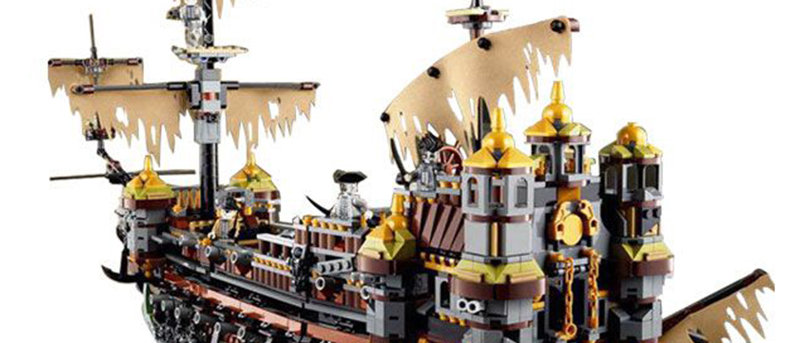 LEPIN 16042 Pirates of the Caribbean Silent Mary LEGO 71042