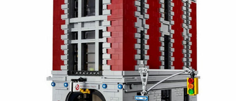 LEPIN 16001 Ghostbusters Firehouse Headquarters LEGO 75827