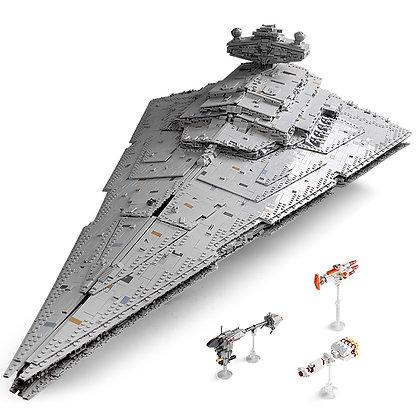 Mould King 13135 Star Wars Imperial Star Destroyer Monarch MOC 23556
