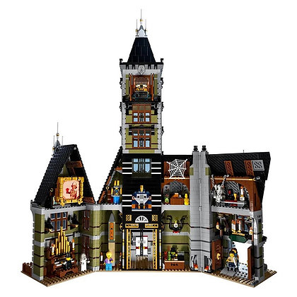 XD2025 Movie Series Haunted house compatible LEGO 10273