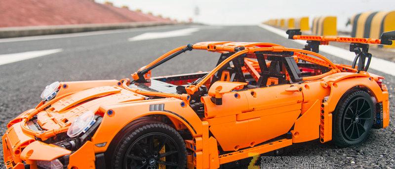 MOC 20001 Technic Porsche 911 GT3 RS LEGO 42056