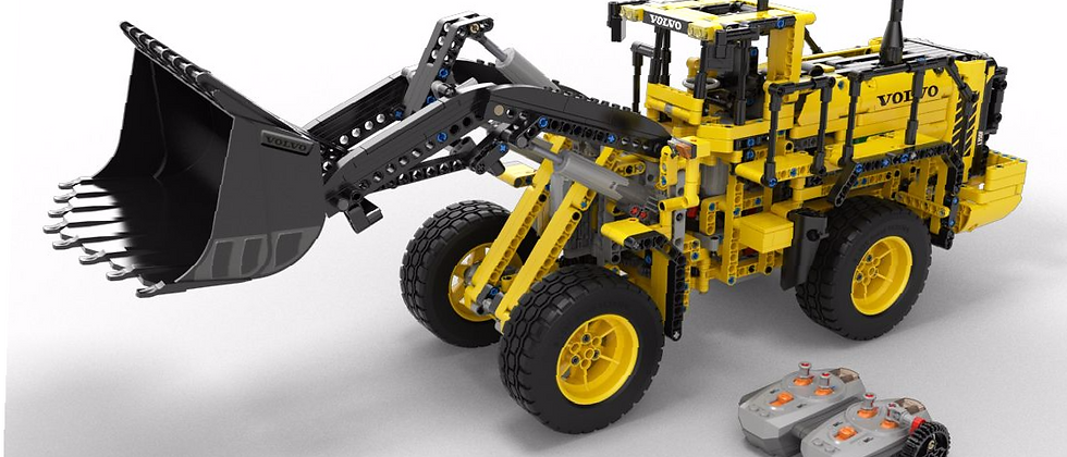 LEPIN 20006 Technic RC VOLVO L350F Wheel Loader LEGO 42030