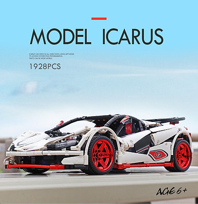 KING 13067  MOC 4562 ICARUS Supercar by Madoca1977