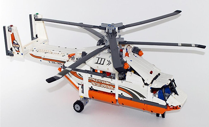 LEPIN 20002 Technic Heavy Lift Helicopter Compatible LEGO 42052