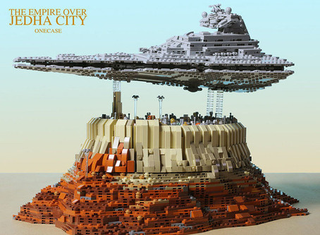 The Empire Over Jedha City Star Wars PDF Manual