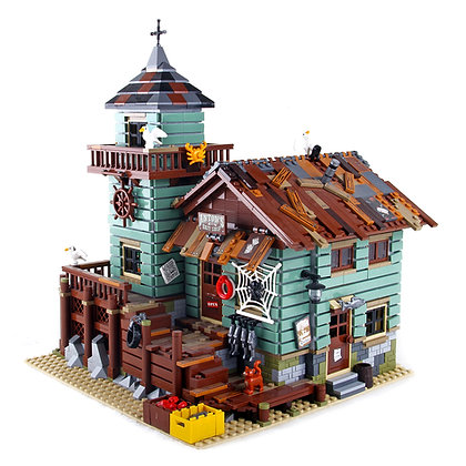 LEPIN 16050 Creator Old Fishing Store compatible LEGO 21310