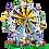 Thumbnail: LEPIN 15012 Creator Ferris Wheel compatible LEGO 10247
