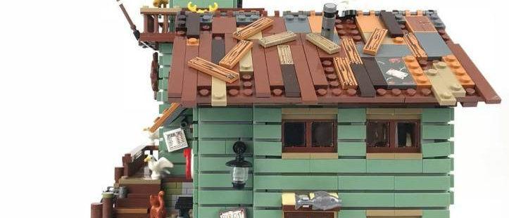 MOC 16050 Creator Old Fishing Store compatible LEGO 21310