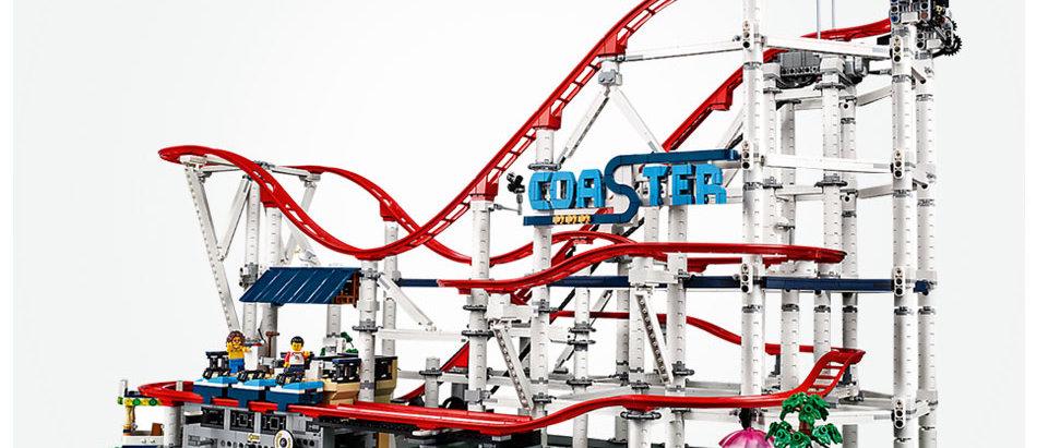 LEPIN 15039 Creator Roller Coaster Compatible LEGO 10261