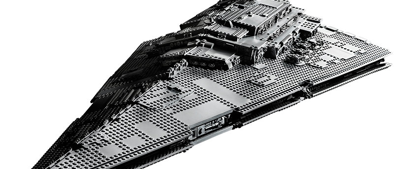 MOC 81098 UCS Imperial Star Destroyer  compatible 75252 with manual book
