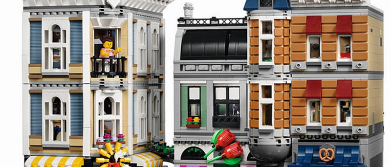 LEPIN 15019 Assembly Square LEGO 10255