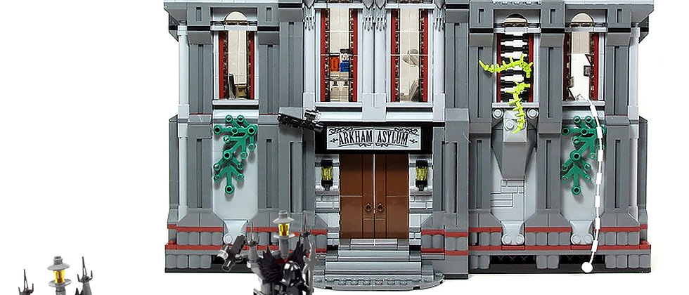 Arkham Asylum Breakout 07044 compatible 10937 ship from Europe