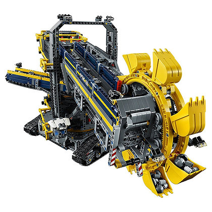 LEPIN 20015 Technic Bucket Wheel Excavator Compatible LEGO 42055